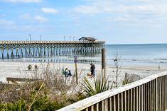The Pier at Garden City Beach, SC. Garden City Beach, Surfside Beach, Beach Vacation Rentals, Real Estate Sales, Beach Photography, Sunrise, Water, Places, Outdoor