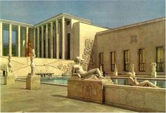 The Museum of Modern Art at the 1937 Exposition Internationale, Paris