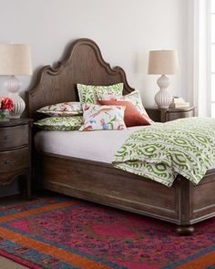 Justene+Bedroom+Furniture+by+Bernhardt+at+Horchow.
