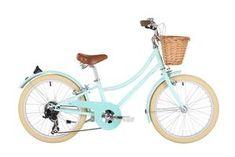Buy Bobbin Bicycles Gingersnap 20 2017 Kids Bike from Price Match + Free Click & Collect & home delivery. Nantucket Bike Basket, 20 Wheels, Bleu Pastel, Cycling Accessories, Balance Bike, Kids Bike, Pink Kids, Bike Frame, Shopping