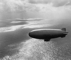 Edward STEICHEN :: Blimp patrol over the ocean, 1943 - LIFE photo archive