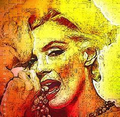 Marilyn Monroe by Henstepbatbot