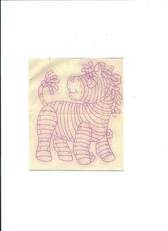 baby quilt = pony