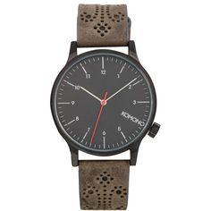 Komono Watch Winston Brogue Strap $145