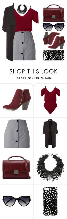 """""""Odella"""" by brie-the-pixie ❤ liked on Polyvore featuring Charlotte Russe, Roland Mouret, Carven, Dorothy Perkins, Yves Saint Laurent, Monies, La Perla and Marc Jacobs"""