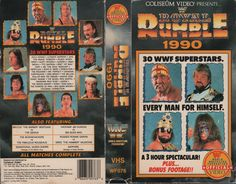 Please note the list of participants - this is the 2nd VHS cassette advertising the appearance of The Widow Maker (Barry Windham) for an event in which he did not participate -- the Red Rooster replaced him in this event -- in the 1989 Survivor Series, he was replaced by the (Canadian) Earthquake