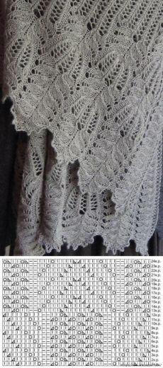 Красивый узор спицами — Попкорн — детское вязание спицами и крючком