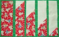 Happy Valley Quilter's *easy* tutorial for making a buzzsaw quilt block
