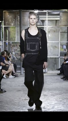 Laurence Rodriguez catwalk Paris walking for Givenchy