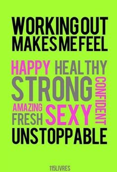 Workout gives me a good feeling ❤️ Happy strong sexy energy healthy and amazing