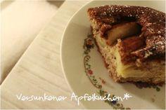 Apfelkuchen von http://meinLykkelig.blogspot.com