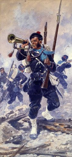 French Fusiliers Marines, Opium War