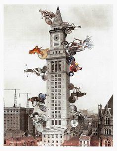 "Lynn Skordal, ""Second Annual Interspecies Bike Tower Race"""