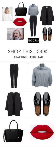 """SKAM--Noora"" by fatimasboutique ❤ liked on Polyvore featuring Topshop, Brunello Cucinelli, Non, FitFlop and MICHAEL Michael Kors"