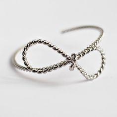 """New in. #bowbangle #bow#silver#silverjewelry#bowbracelet"""