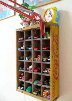 Organizadores artesanais para o quarto das crianças 015