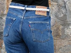 L'indémodable jeans Levi's 501 W29 L32 par vintagessignature