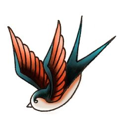 Image Result For American Traditional Swallow Tattoo Tattoos
