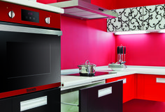 1000 images about black and red kitchen accessories and for Funky kitchen accessories uk