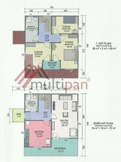 MPX5 131 Square Meters Separate Lounge / Kitchen 3 Bedrooms 2 Bathrooms Prefabricated Houses, Square Meter, Separate, Bathrooms, Floor Plans, Bedroom, Kitchen, Living Room Lounge, Pull Apart