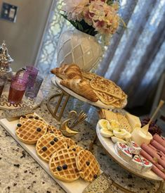 Breakfast Of Champions, Recipe Of The Day, Waffles, Meals, Food, Meal, Essen, Waffle, Yemek