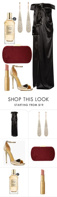 """""""Untitled #3810"""" by fcharese ❤ liked on Polyvore featuring Monse, Roberto Marroni, Boohoo, Natasha, Viktor & Rolf and Too Faced Cosmetics"""