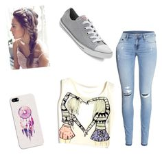 Style by ryan-sara-cummings on Polyvore featuring polyvore, fashion, style, H&M, Converse and Casetify