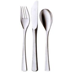 my absolute, all-time favorite flatware. WMF Domus. (this is the best price I've ever seen)
