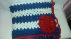 Nautical Blanket Nautical Decor Anchor Blanket Crochet Baby Blanket Nautical Nursery Crochet Afghan Anchors Made to Order Baby (70.00 USD) by TheCrochetAnything