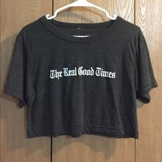 Crop Top Purchased off karmaloop. Roamers Clothing Co. Removed tag because it bothered me after I tried it on. Otherwise never worn. Roamers Clothing Co. Tops Crop Tops