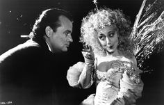 Picture of Bill Murray and Carol Kane in Scrooged Picture Number 13