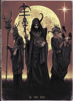 We three Kings by Lovell-Art