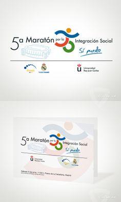 5ª Maratón por la Integración Social -   Universidad Rey Juan Carlos - www.versal.net  • Diseño Gráfico • Identidad Visual Corporativa • Publicidad • Diseño Páginas Web • Ilustración • Graphic Design • Corporate Identity • Advertising • Web Pages • Illustration • Logo