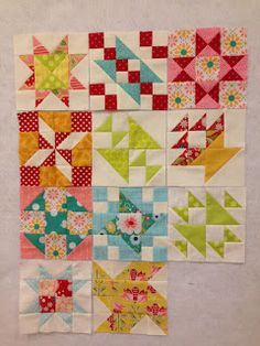 :) sampler - love the colors!