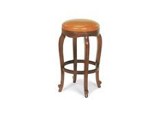 """Handcrafted Furniture by Hancock and Moore 105-30 Burberry barstool 16.5"""" diameter X 30"""" high.  Fabric or leather."""