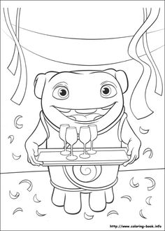 boov coloring pages - photo#21