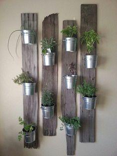 Herbes aromatiques en jardinière d'intérieur ♥️ #epinglercpartager