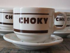 Retrouvez cet article dans ma boutique Etsy https://www.etsy.com/fr/listing/242421864/6-tasses-a-chocolat-choky-avec-soucoupes