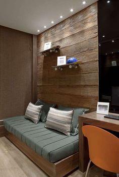 Chamada para criar um apartamento decorado para um empreendimento no bairro de Santana, na Zona Norte de São Paulo, a designer de…