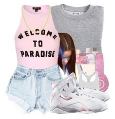 My paradise by jtia on Polyvore featuring polyvore fashion style Topshop Blair Levi's clothing
