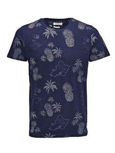 JACK /& JONES Joradam Shirt SS Camisa para Hombre
