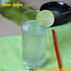 How to make Aloe Vera juice.....with coconut water for me please!!!