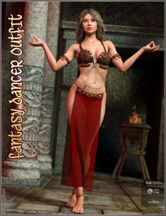Description: dForce Fantasy Dancer Outfit and Poses For Genesis 8 Female(s) Info Url: