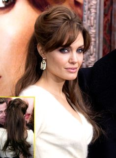 Angelina Jolie, always an inspiration eyes, hair, lips...