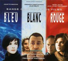 TROIS COULEURS, BLEU - BLANC - ROUGE 1993-1994 KRZYSZTOF KIESLOWZKI