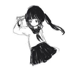 Manga Art, Anime Art, Emo Art, Arte Obscura, Gothic Anime, Estilo Anime, Cybergoth, Cartoon Art Styles, Dark Anime