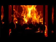 Fireplace with natural sound (HD  720 Widescreen 16:9)