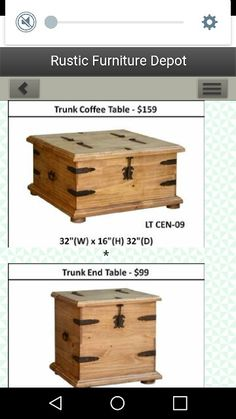 Www.rusticfurnituredepot.com I Like The Hardware On This Coffee Table