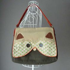 raccoon bag from little odd forest
