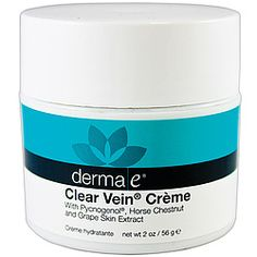 Tired Of Your Spider Veins? Helps reduce spider veins and capillary redness. Also excellent for clearing up bruises and enhancing the healing process.